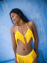 Asha in a bikini - Erotic and nude girls pics at SoloTeenPics.com