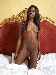 Her young black body is a treasure house - Erotic and nude girls pics at SoloTeenPics.com