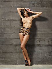 Young Tereza loves to feel bound in like this