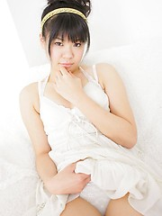 Young asian girl Rika Kisaragi
