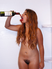 Jasmin Veracruz Drinks Sancho - Erotic and nude girls pics at SoloTeenPics.com