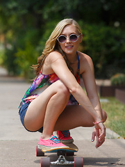 Ember Volland For Landyachtz - Erotic and nude girls pics at SoloTeenPics.com