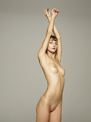 Skinny fashion girl showing her nude body - Erotic and nude girls pics at SoloTeenPics.com