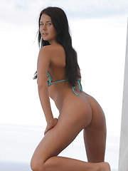Watch stunning brunette Addison strip for you - Erotic and nude girls pics at SoloTeenPics.com