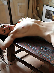Hottest young model in solo erotic session - Erotic and nude girls pics at SoloTeenPics.com