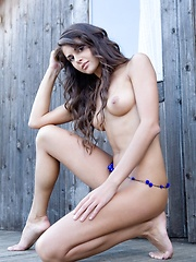 Armed with a naughty smile and innocent look, Astrud is very tempting and exciting  - Erotic and nude girls pics at SoloTeenPics.com