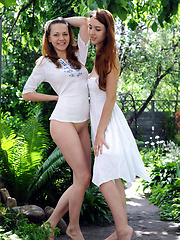 Two stunning beauties, Joanna as the sweet and adorable cutie, while Dana is the seductive and daring sweetheart, both are eager to please.