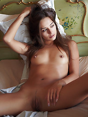 With her tempting, arousing, and well-composed poses in front of the camera, one could tell that Dominika has no inhibitions at all with flaunting her naked, gorgeous body.