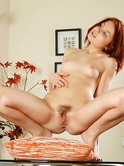Aria Giovanni aka Aria G - american pornstar posind at home - Erotic and nude girls pics at SoloTeenPics.com