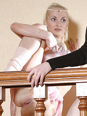 Dariya and Sasha join forces in their own ballerina performance. - Erotic and nude girls pics at SoloTeenPics.com