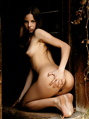 Like a innocent girl hiding in the doorway was you pass by. - Erotic and nude girls pics at SoloTeenPics.com