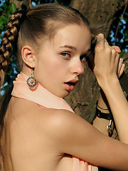 Young fashion model exposes her cute unshaved hole - Erotic and nude girls pics at SoloTeenPics.com