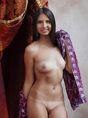 Natania makes a great debut, surprising viewers with her wonderfully tanned body with defined hips, and long, athletic legs. - Erotic and nude girls pics at SoloTeenPics.com