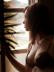 Hayden Winters - glows in the sunlight from a window - Erotic and nude girls pics at SoloTeenPics.com
