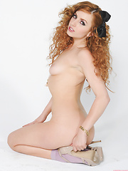 Lexi Belle strips off a tiny skirt and revealing top - Erotic and nude girls pics at SoloTeenPics.com