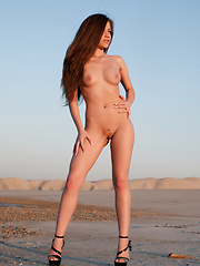 Posing as a nude model give opportunity to show the world what nature has done magnificently. Fresh female body in wild. - Erotic and nude girls pics at SoloTeenPics.com