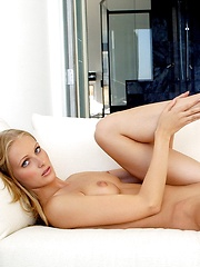 Dominique Dane - is a tall blonde runway model with a naughty side - Erotic and nude girls pics at SoloTeenPics.com