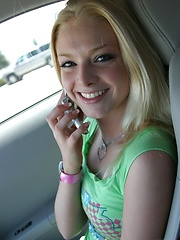 Petite blonde Skye Model is out having fun in a tight top and jeans - Erotic and nude girls pics at SoloTeenPics.com