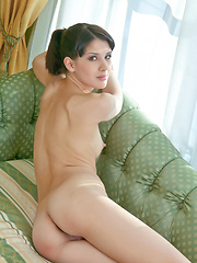 Luiza A flaunts her slim body and perky breasts - Erotic and nude girls pics at SoloTeenPics.com