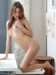 Stunning Nubile strips down to give you a taste of her naughty side - Erotic and nude girls pics at SoloTeenPics.com