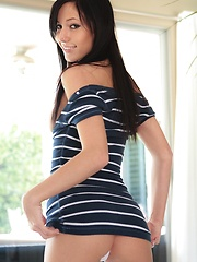 Teen camwhore Catie Minx looking sweet and innocent in a tight mini dress - Erotic and nude girls pics at SoloTeenPics.com