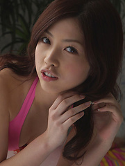Azusa Togashi Asian has lovely smile, juicy bum and generous cans - Erotic and nude girls pics at SoloTeenPics.com