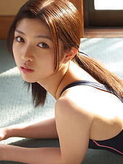 Azusa Togashi Asian with sexy body in bath suit loves sun light - Erotic and nude girls pics at SoloTeenPics.com