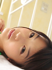 Noriko Kijima Asian has big tits and hot ass in colorful lingerie - Erotic and nude girls pics at SoloTeenPics.com