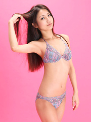 Misaki Takahashi Asian in lingerie has all she needs for a model - Erotic and nude girls pics at SoloTeenPics.com