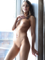 It does not get better than this when it comes to nude slim babes. This brunette cutie shows what perfection is. - Erotic and nude girls pics at SoloTeenPics.com