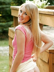 Join Jewel as she romps naked through the woodland - Erotic and nude girls pics at SoloTeenPics.com