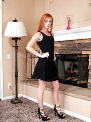 Beautiful redhead Alex Tanner gives a perfect view of her juicy pink twat - Erotic and nude girls pics at SoloTeenPics.com