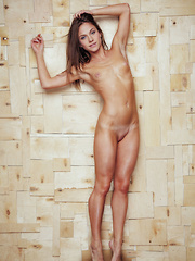 Nola A shows off her perfectly toned, athletic body with smooth and puffy assets.