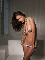 One can\'t help staring at Helen H\'s magnificent breasts, slim waist, and svelte, long legs, especially when she\'s got that teasing look on her sultry face. - Erotic and nude girls pics at SoloTeenPics.com