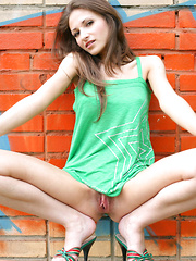 She opens up that sexy little world to embrace that deep passion she feels within and to show you that teen pussy.