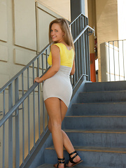 April Brookes In Mall Creeps - Erotic and nude girls pics at SoloTeenPics.com