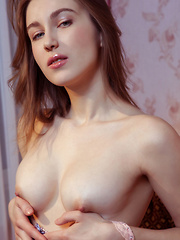She has an incredibly shaped body with which she has tons of fun as she shows every curve of it off to the world. - Erotic and nude girls pics at SoloTeenPics.com